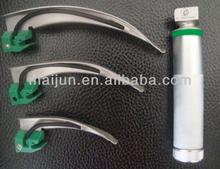Disposable Macintosh and Miller fiber optic Laryngoscope