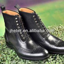 Mubo sheepskin leather snow boot