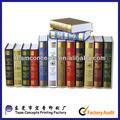 baratos de alta qualidade fake decoração livro livro
