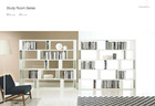 Solid wood study table,2014New design,study room