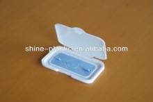 Double-color injection lid/Plastic cover of baby wipes/baby tissues dispenser