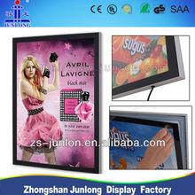 2014 New Advertising Photo Frame LED Lighting Panel Magnetic Design