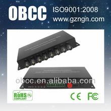OBCC high quality video audio converter for CCTV analog cameras