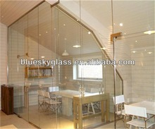 LT 12mm tempered glass wall partition AS/NZS certificate with competitive price