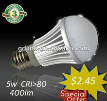 Best Prices Shenzhen Led 3w 5w 8w Led Bulb E27 Led Lighting Bulb