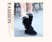 new style 2012 fashion cheap winter waterproof women snow boots