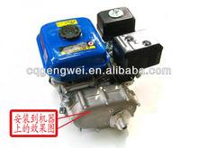 gasoline 168F go karts engine