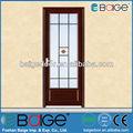 Bg-aw9007 liga de alumínio de dobramento porta do banheiro/design higiênico