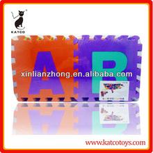 Eco- Amichevole alfabeto abc tappetino 36 pc eva puzzle tappeto