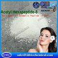 Acetil hexapeptide-8 pó venda quente, argireline, botox anti- rugas sem tóxico