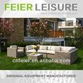 feier a6015sf muebles de mimbre de la resina de jardín al aire libre al aire libre muebles de mimbre sofá de salida