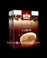 3 en 1 Café blanco instantáneo