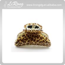 9cm Acrylic Leopard Hair Claw Clips , animal printing jaw clip, hair clip