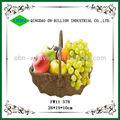 venta caliente de mimbre natural de imágenes de cesta de frutas