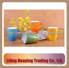 ceramic coffee cup handpaint
