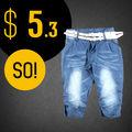 De las muchachas del dril de algodón pantalones cortos stock, Pantalones cortos de mezclilla odm, Pantalones cortos de mezclilla precio barato de sobra