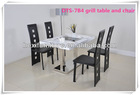 korean BBQ grill table and chairs to restaurant DTS-7B4
