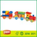 crianças brinquedo de madeira do caminhão