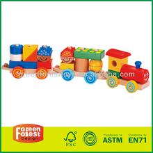 Children Wooden Toy Truck