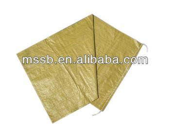100% original material rice custom resealable pp woven bags for corn flour