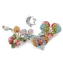 New Design Flower Fashion Brooch For Wedding Invitations