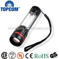flexible de alta potencia cree zoom 18 lado de luz led linterna con el imán
