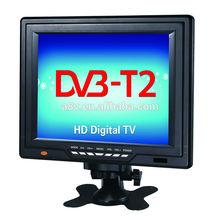 120-150Km/h Small 12V DC TV built in portable DVB-T tuner