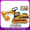 Poderosa fricção plástico construção caminhão de brinquedo de construção