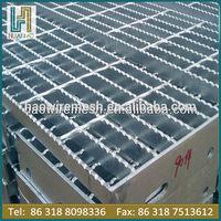 hot dipped galvanized welding floor plate steel grating