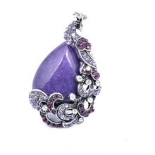 Latest Design Purple Opal Silver Plated Championship Ring
