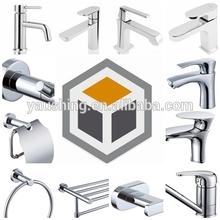 OEM Metal Machining Electroplating Faucet Bathroom Accessories Sanitary Ware