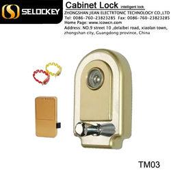 made-in-china electronic swipe card cabinet locks TM card gym lock(TM03)