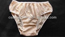 100% cotone ospedale mutandine usa e getta per gli uomini/donne