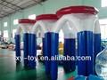 Personalizado inflável cesta de basquete, Água jogo de basquetebol para venda