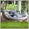 Hanging rattan hammock swing bed