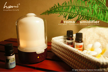 HA860 Real Wood and Glass aroma lamp diffuser electric fragrance diffuser
