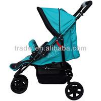 3 wheels baby pushchair /baby buggy/ baby stroller with EN1888
