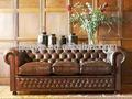 Chesterfield sofá de couro
