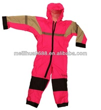 Top Quality Waterproof Kids Pink Rain Suit