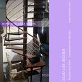 interni spirale piccolo loft scale di legno
