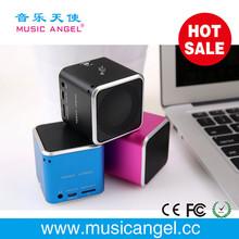 2014 new product digital color flash mini speaker Music Angel JH-MD07 original factory