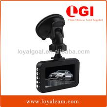 2014 New GS6000 2.7 TFT LCD 140 degree lens full hd 1080p digital night vision dash cam with G-sensor