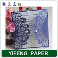 2014 ideal products laser cut kerala tamil handmade latest wedding card design