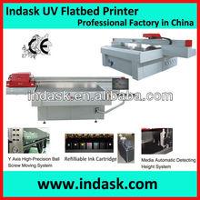 Indask large format digital inkjet uv printer/ricoh uv flatbed printer/ricoh GEN5 uv printer