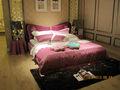 modern rosa vermelha tecido frame da cama deisgn novo casa camas