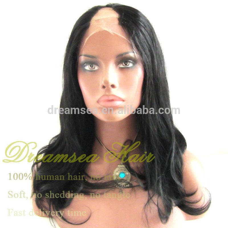 Cheap U Part Wig Human Hair 64