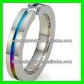 moda 2014 china gay hombres anillo de boda joyería de fábrica