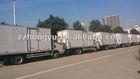 howo aluminum cargo delivery van truck