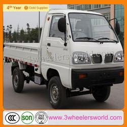 China manufacturer 4 wheel mini cargo van/cng mini truck price