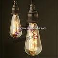 Vintage antiguo de bombillas st64 40w e27/b22